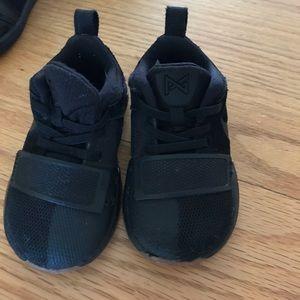 Nike's  Air Jordan TD and Nike toddler PG 1 so 5c